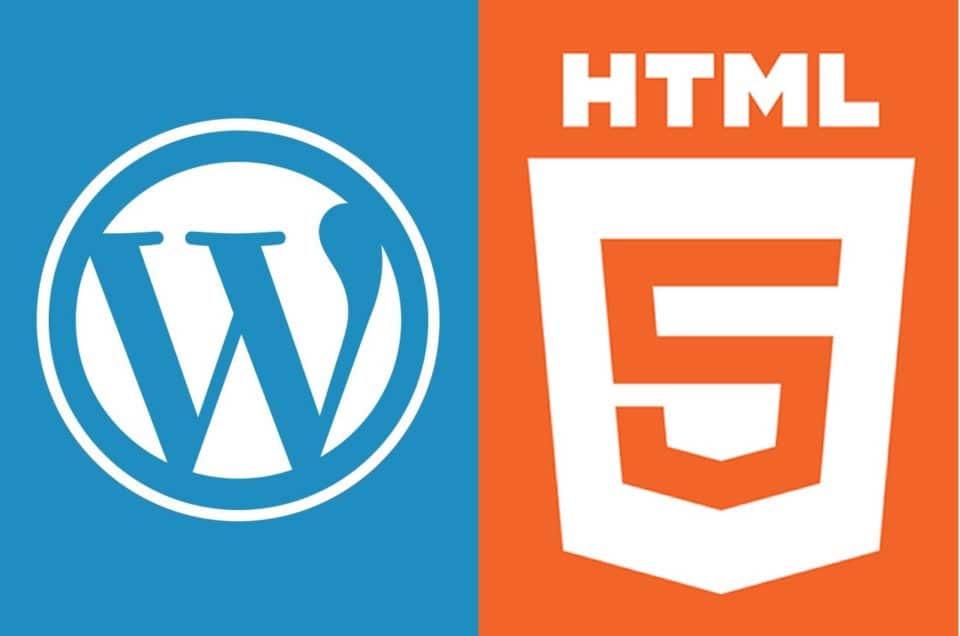 WordPress Versus HTML Websites