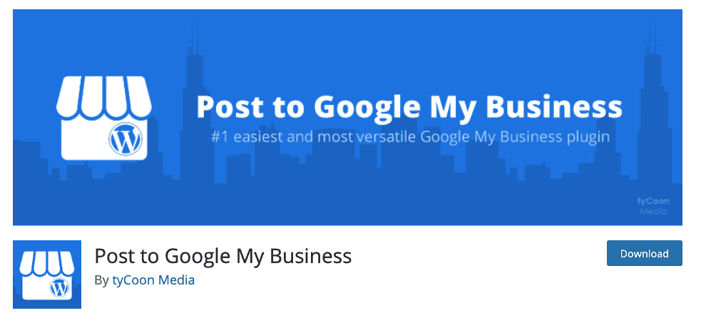 Post to Google My Business Banner