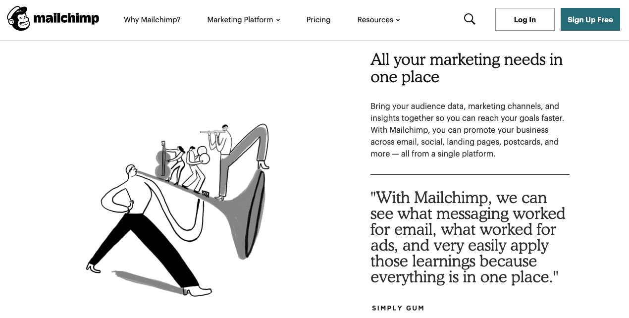 MailChimp dating