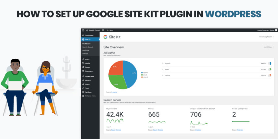 How To Set Up Google Site Kit Plugin