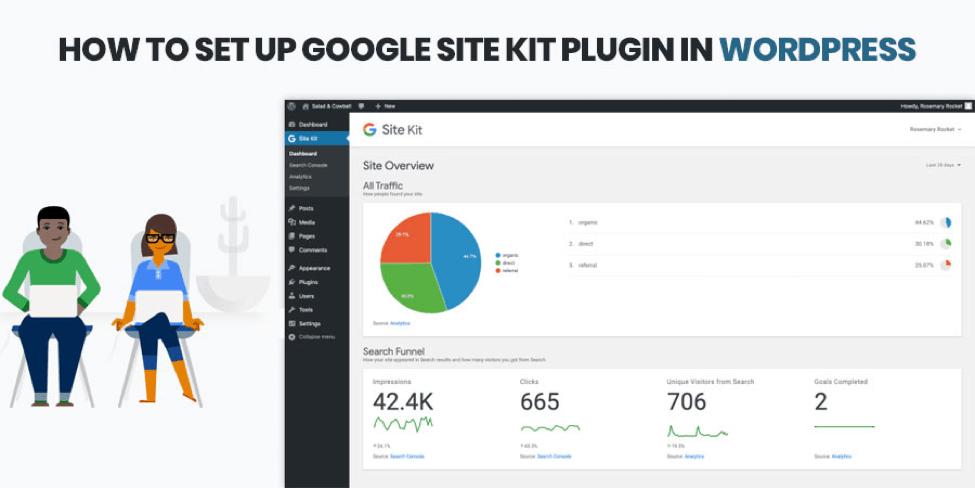 How To Set Up Google Site Kit Plugin