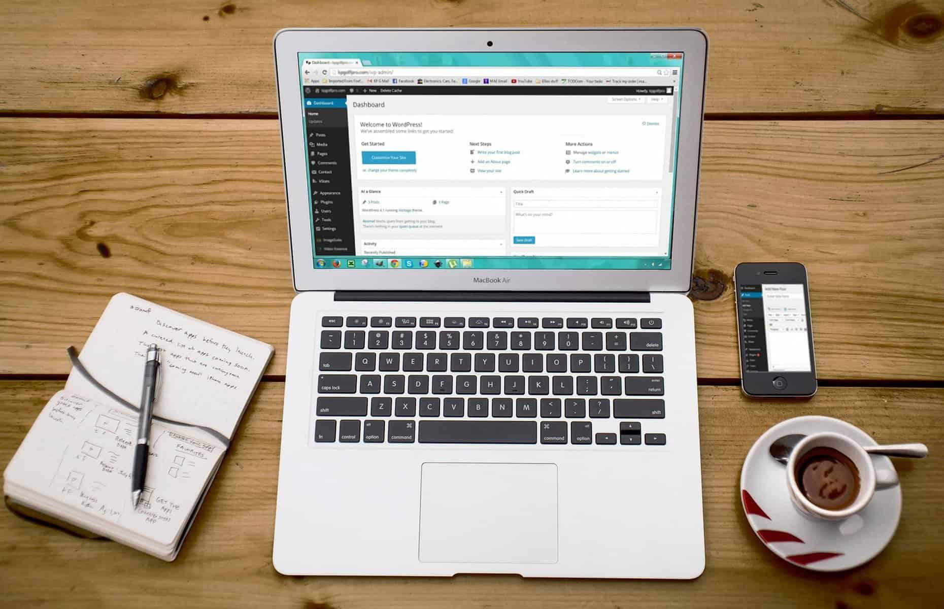 Create your site on WordPress