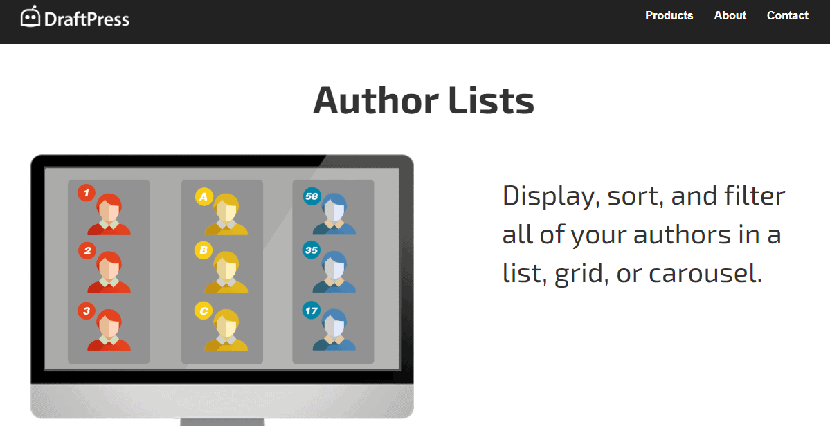 Author lists