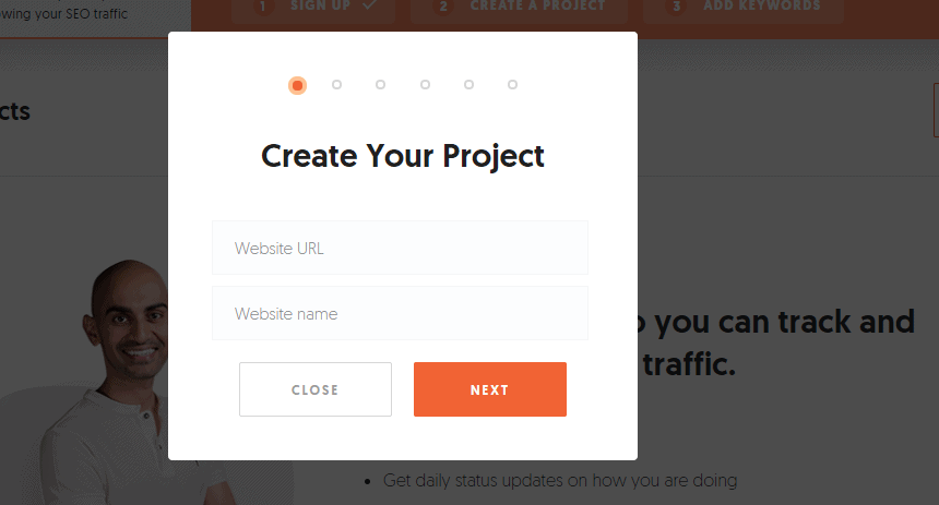 Create a project option