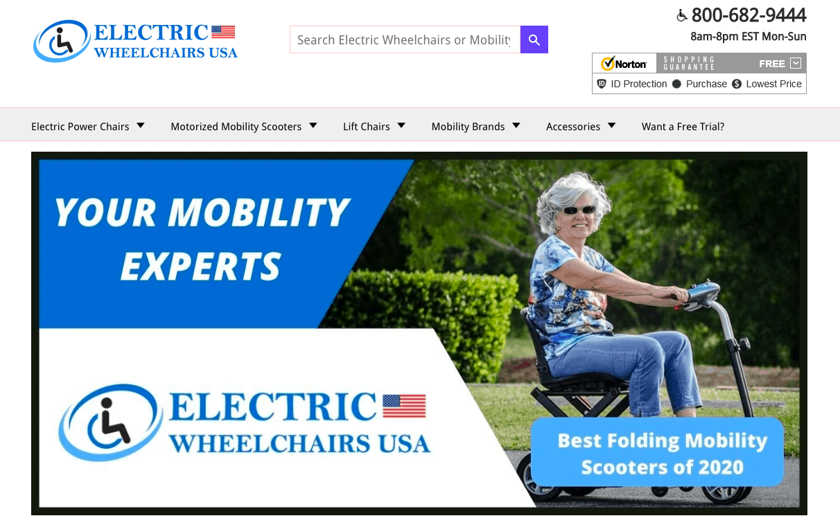 Electric Wheelchairs USA