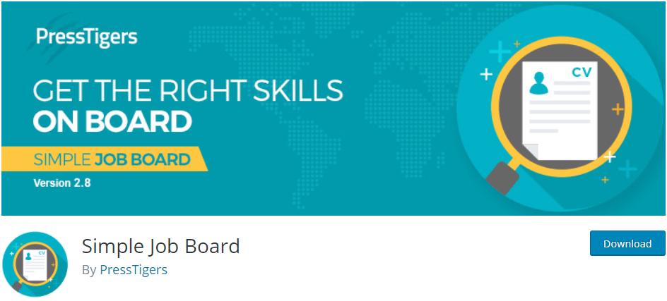 Simple Job Board