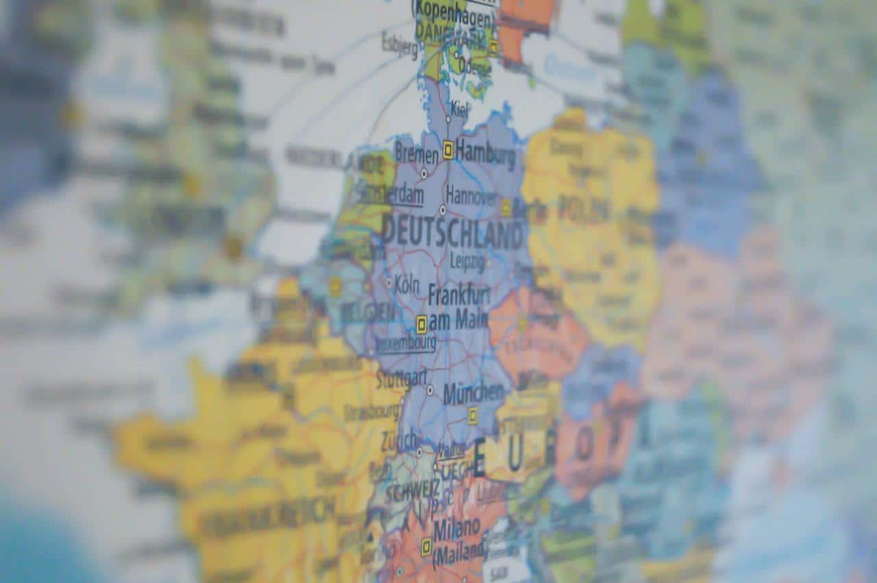 Map up close