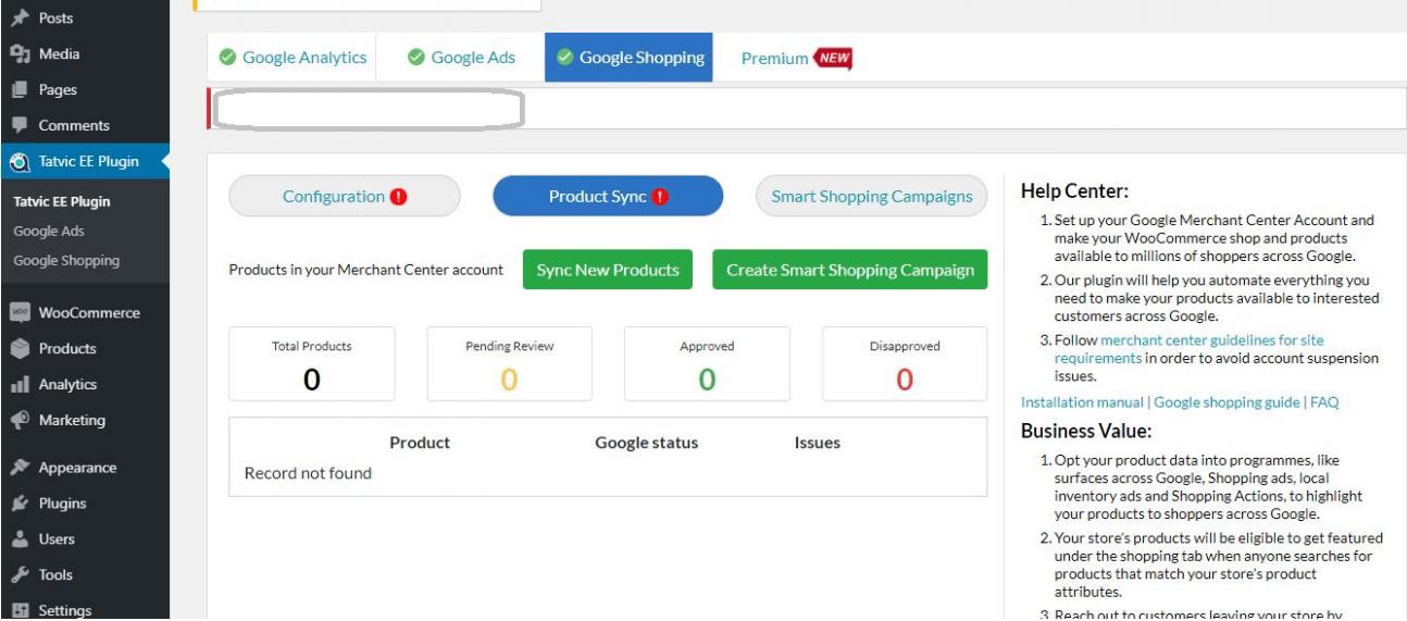 Enhanced Ecommerce Google Analytics Plugin for WooCommerce Google Shopping tab