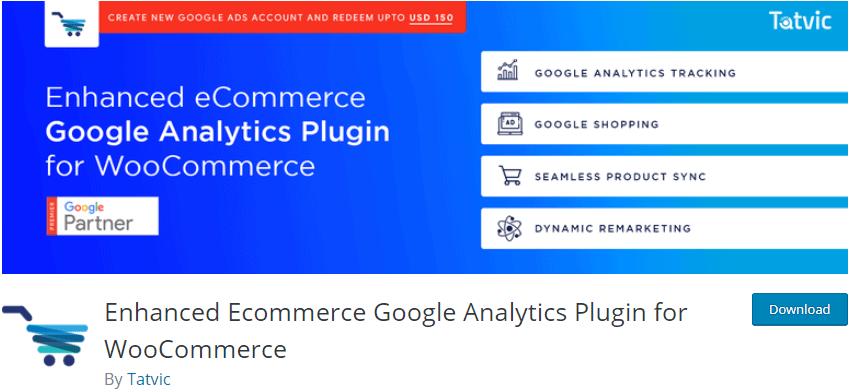 Enhanced Ecommerce Google Analytics Plugin for WooCommerce