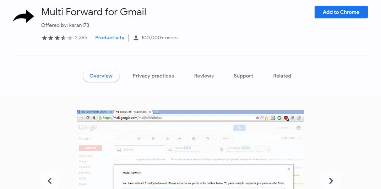 Multi Forward for Gmail