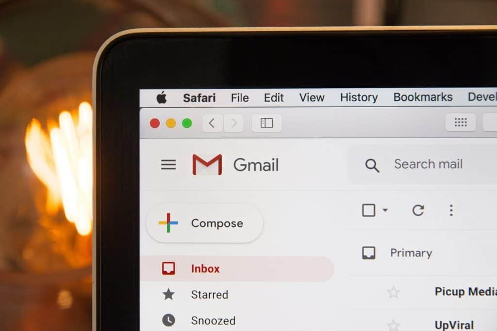 Gmail toolbar