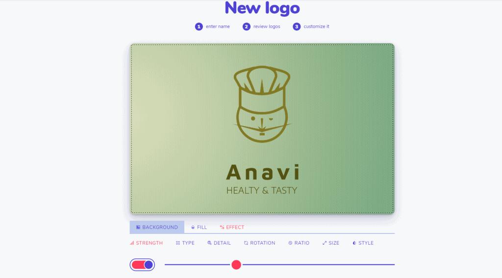 Logo color customization