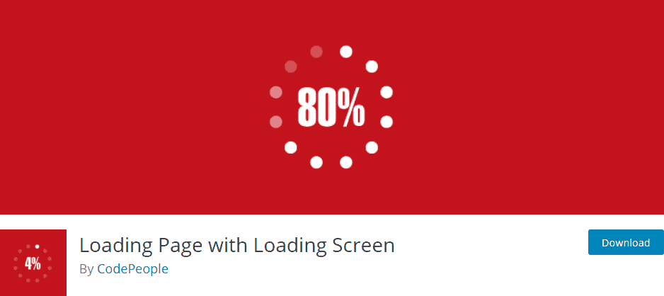 Loading Page with Loading Screen